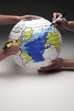 There are many projects designed to help students learn about geography.