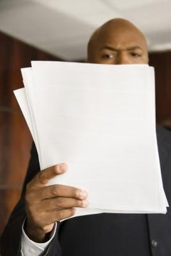 Certain legal papers must be properly served before they become effective.