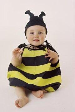 A kinder, gentler bee uniform.