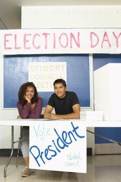 Student council members are the elected representatives of the student body.