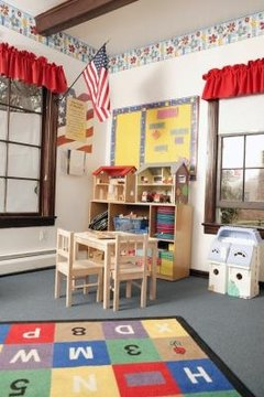 A well-designed classroom keeps students interested and active.
