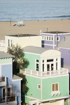 Part-time residence at a beach home is classified as a secondary residence.