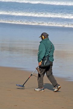 A metal detector can help you find land boundaries.
