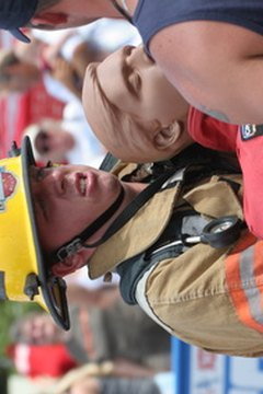 Many fire departments offer free training for high school students who want to be volunteer firefighters.