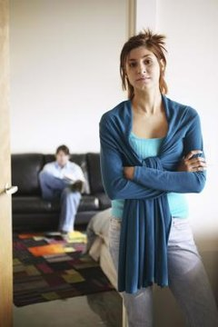 In some states, legally separated spouses may continue to live together.