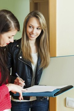 High school students can conduct surveys as part of their sociology experiments.