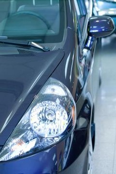 When leasing a car, there is often a lein filed with the court.