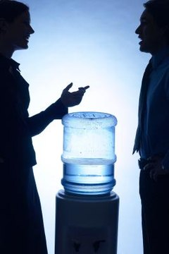 Water cooler gossip can cause harm to those under discussion.