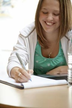 Students should include details to back their main points.