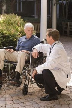 Older adults who have had strokes might suffer from aphasia.