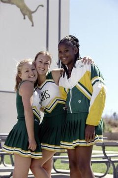 Make a speech on cheerleading for a class or a conference.