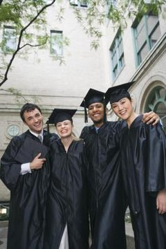 To graduate with an associate degree, students have to complete 48 to 68 credits of coursework.