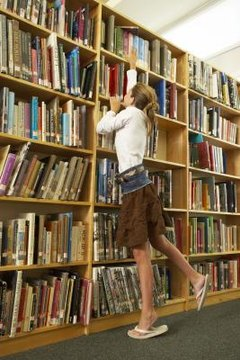 The more time kids spend in the library, the better they will get at finding the information they need.