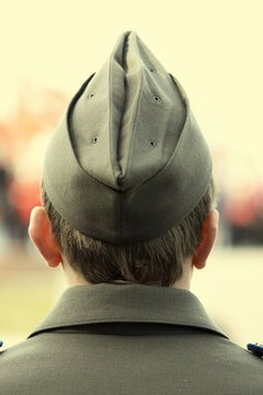 Military tradition requires attention to detail in matters of appearance.