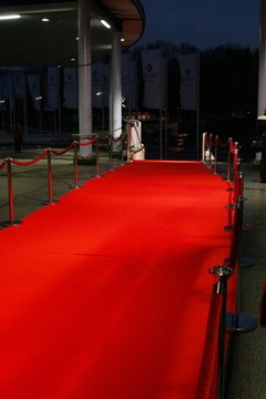 There are numerous ways to get yourself invited to red carpet events.