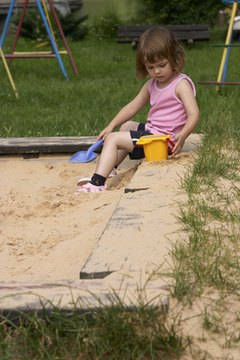 Sandboxes should be kept clean and dry.
