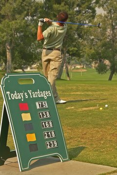 Time spent on the practice range helps lower your score.