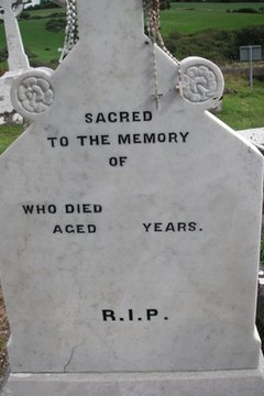 Designing your headstone lets you control how you want to be remembered.