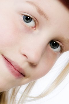 Modeling agencies work with child and adult models.