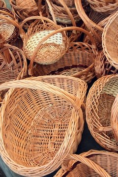 One of the first steps to organizing a basket raffle is to locate a variety of baskets.