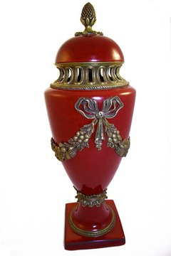Urns are either included or available for an additional fee with cremation service.