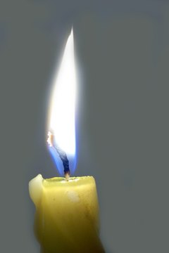Lighting a candle is a traditional form of expression.