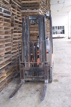 Plastic pallets have good resale value and last a long time.