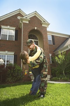 The U.S. Army offers programs to help military family members find jobs.