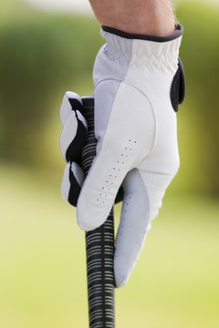The golf glove is an important piece of equipment for all golfers.