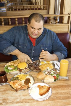 An increase in total calorie consumption over the past 40 years has contributed to growing rates of obesity.