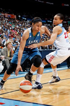 You've got to be strong to play in the WNBA.