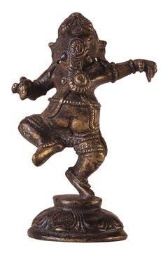 Hindu belief encourages worshiping gods through statues or idols.