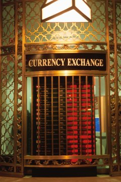 Currency exchange is big business around the world.