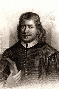 Purtian men, such as John Bunyan, participated in town meetings.