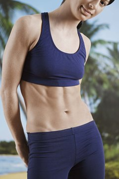 Standing abdominal exercises can tighten and tone your tummy.