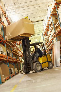 Forklifts prevent significant safety risks in cramped warehouses.