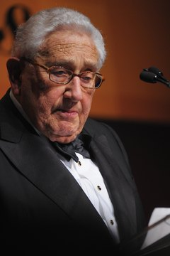 Henry Kissinger is known for his realist politics.