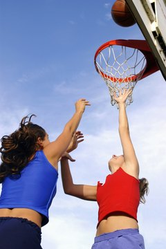 Playing basketball will get you into shape quickly.