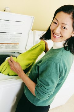 Wash the sweatshirt on hot for moderate results.