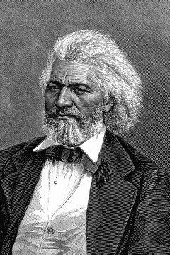 Frederick Douglass' name was placed in nomination for president at the 1888 Republican convention (Reference 6).