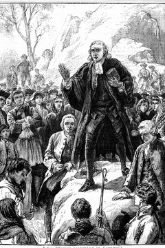 Anglican John Wesley's teachings became the foundation of the Methodist faith.