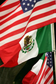 American relations with Mexico were strained during the Mexican Revolution.