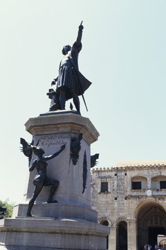 Santo Domingo was formerly part of the Spanish colony of Hispanola.
