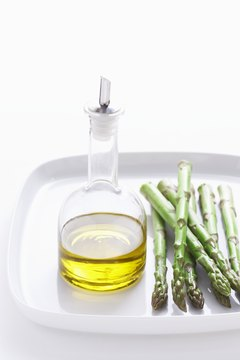 The Mediterranean diet includes the liberal use of olive oil.