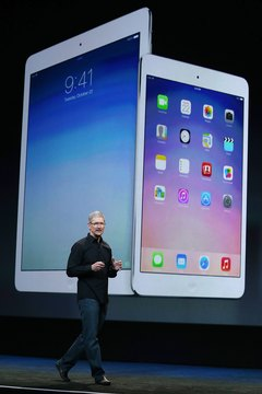 Siri is an iOS feature on both the iPad and iPad Mini.