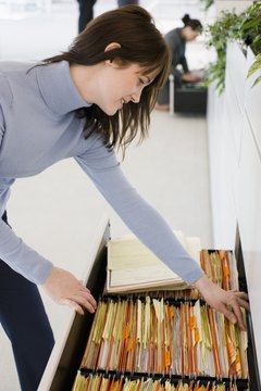Document custodians keep mortgage paperwork available for reference.