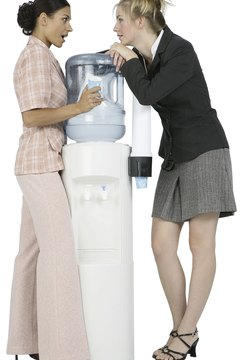 Water cooler gossip can chill an office atmosphere.