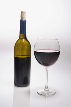 Red wine provides some health benefits.