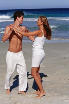 If intimacy and closeness extends beyond the dance floor, she may have feelings for you.