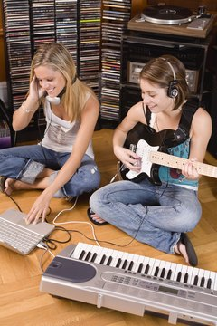 If you're a musician, you can use your own original music in ringtones.